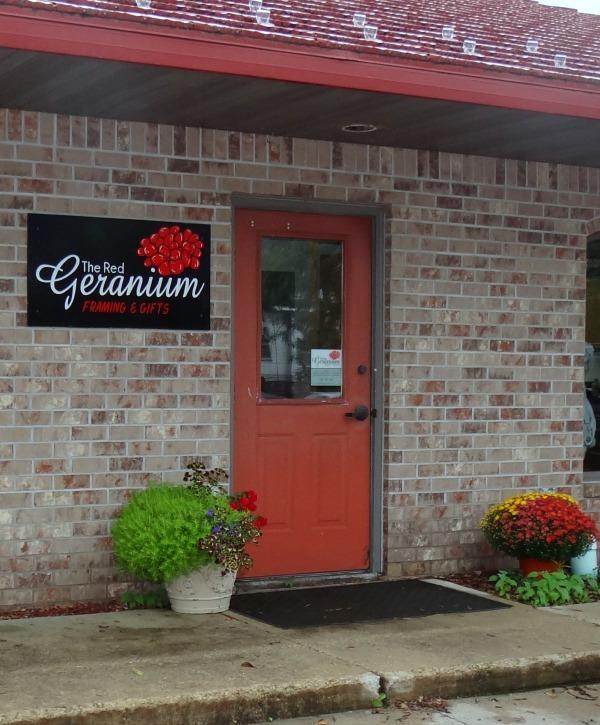 The Red Geranium Framing and Gifts in Mauston Wisconsin
