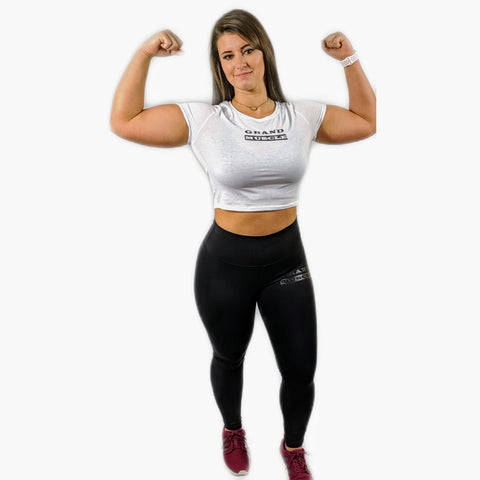 Grand Muscle Womens Crop Top