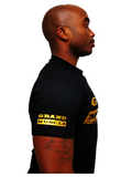 T Shirt - Black and Gold Logo