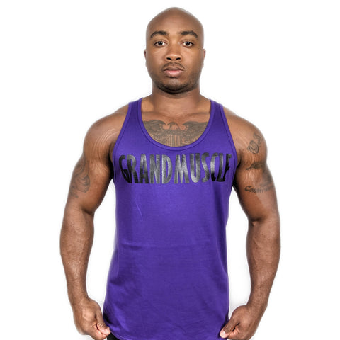 Tank Top - Purple and Black 2019
