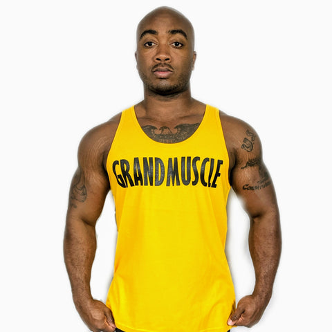 Tank Top - Yellow and Black Logo 2019