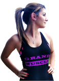 Tank Tops - Black and Purple Logo