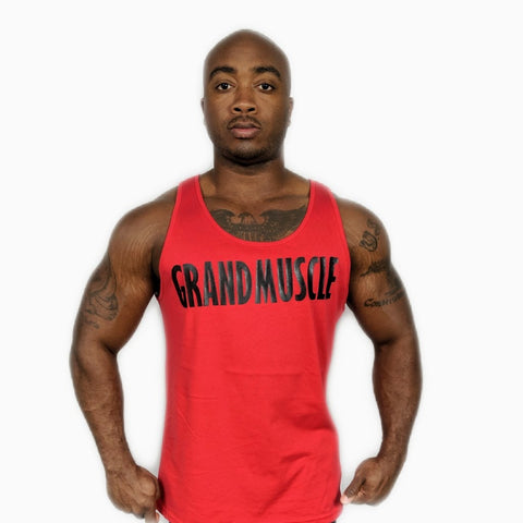 Tank Top - Red and Black Logo 2019