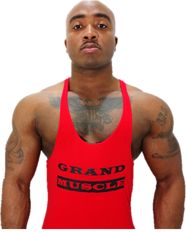 Stringer Tank - Red & Black Logo