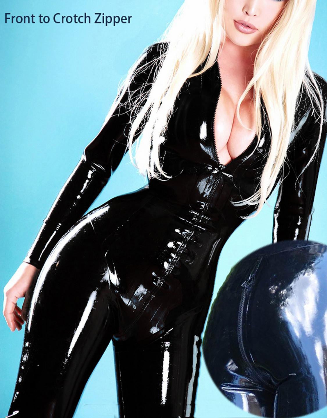 Fashion Cortex Zipper jumpsuit catsuit - Sins & Temptations