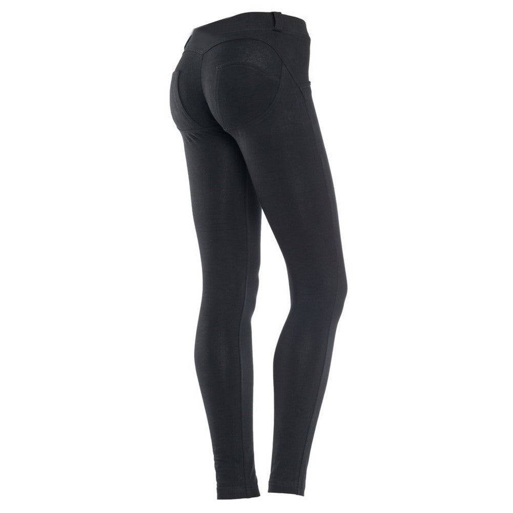 Flawlessly Booty Enhancer Elastic Black Bum Lifter Pants - Sins & Temptations