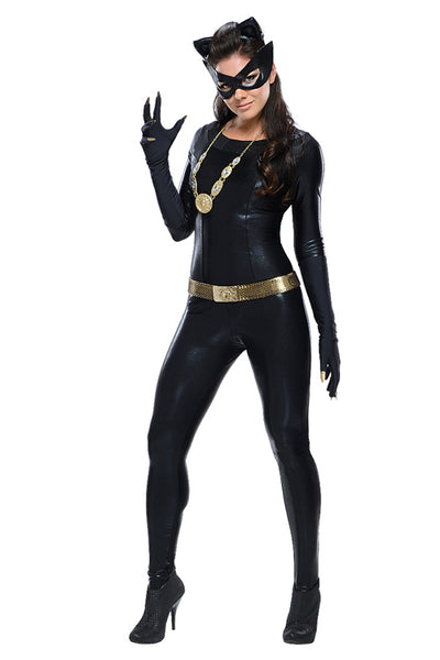Mystic Grand Heritage Tight Stretch Catwoman Halloween Costume - Sins & Temptations