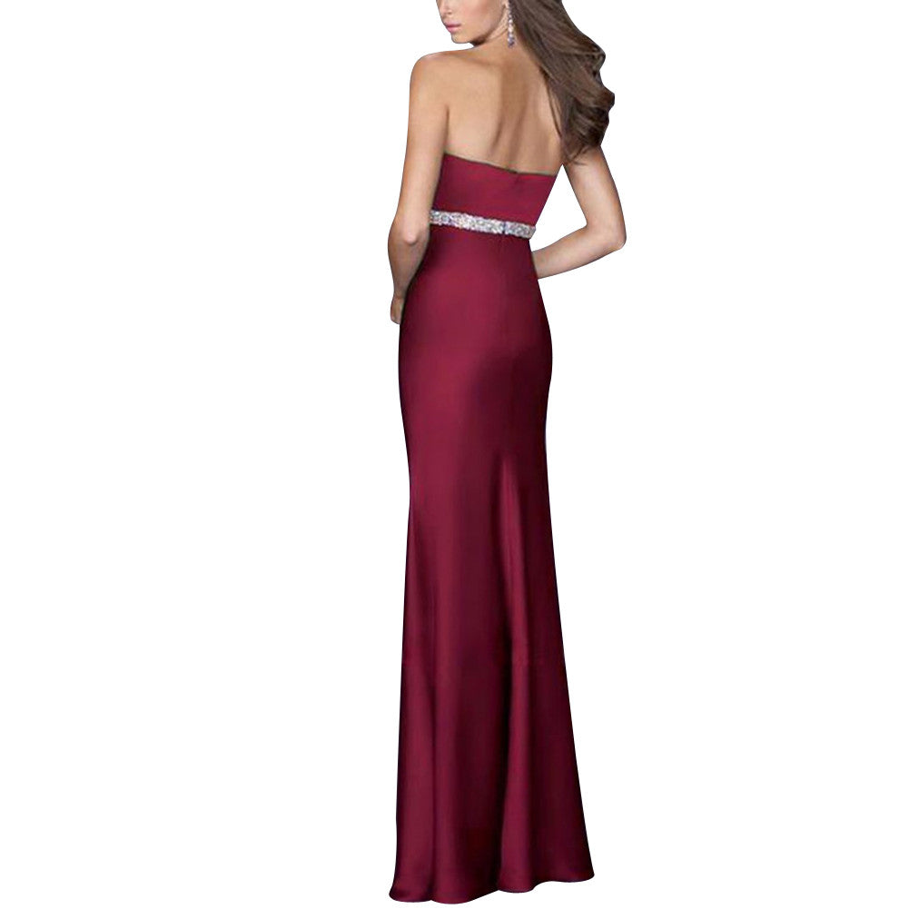 Gorgeous Sleeveless Sequined Long Formal Evening Dress - Sins & Temptations