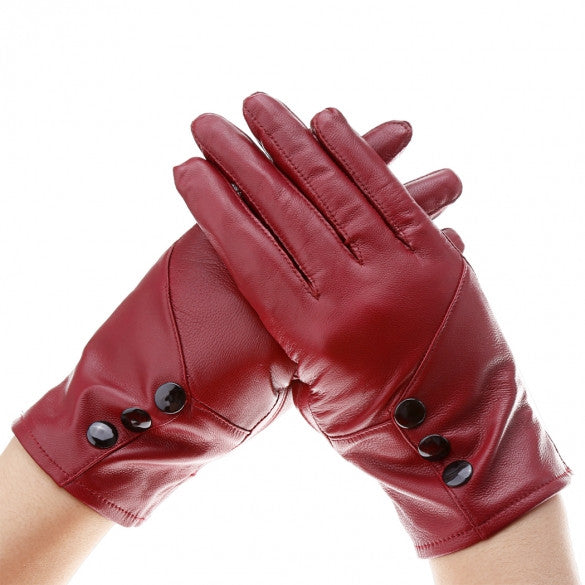 Faux Leather Mitten Gloves - Sins & Temptations