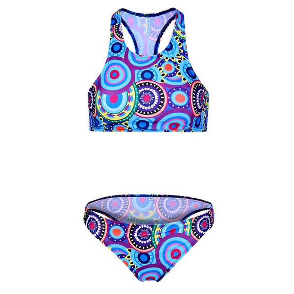 Print Padded Bikini Set Swimwear Swimsuit - Sins & Temptations - 1