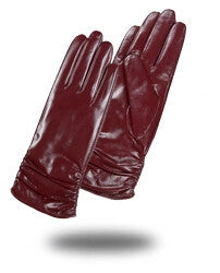 Gours Winter Long Genuine Leather Gloves Women - Sins & Temptations