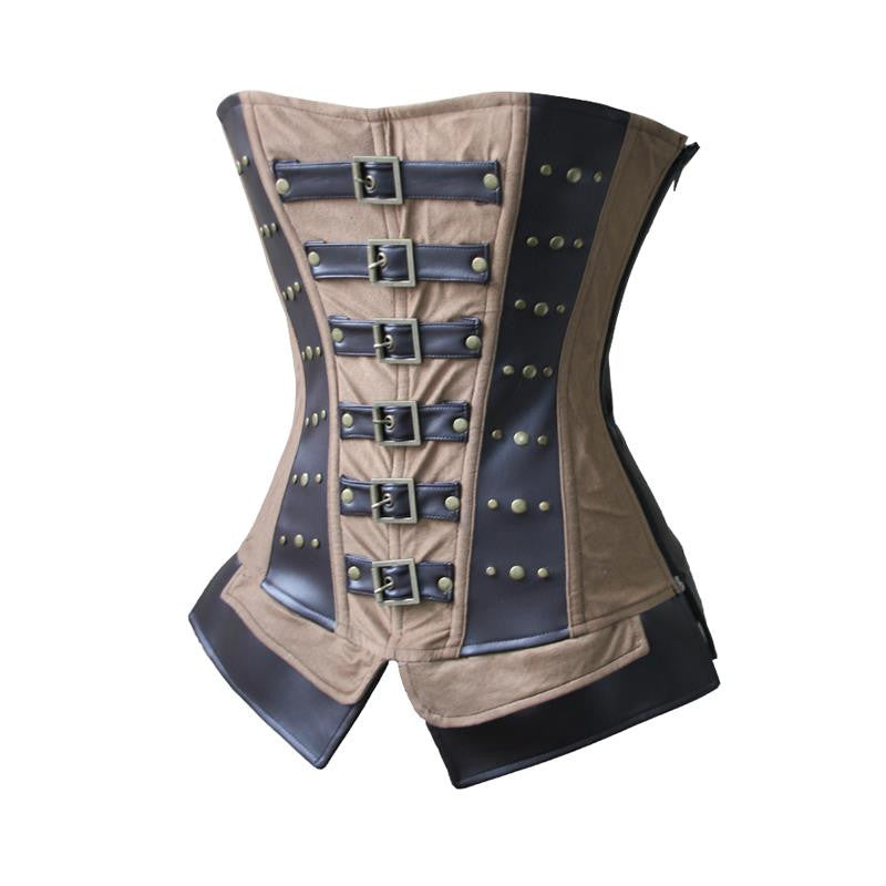 New Fashion Waist Corset Punk Overbust - Sins & Temptations