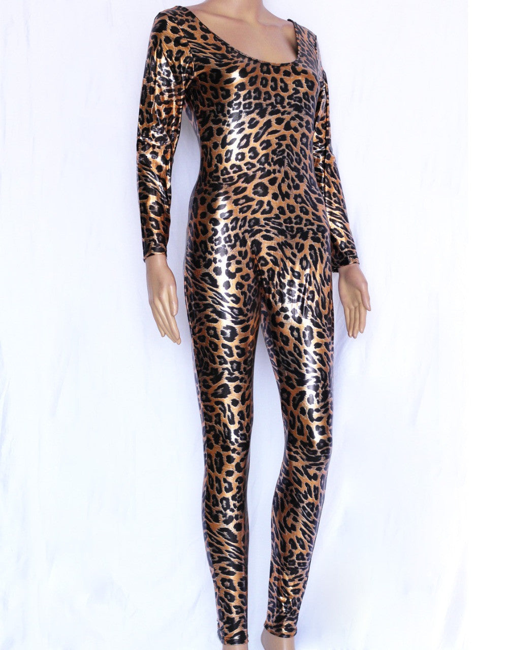 Sexy Leopard Animal Catsuit Costume - Sins & Temptations
