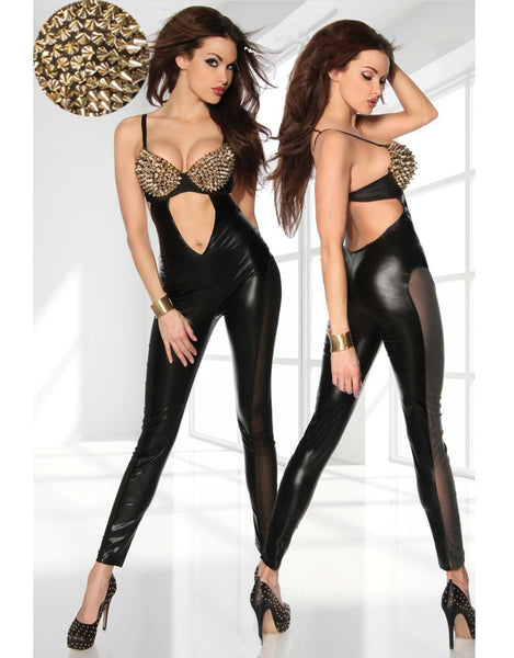 Black Sexy Costume Catsuit - Sins & Temptations