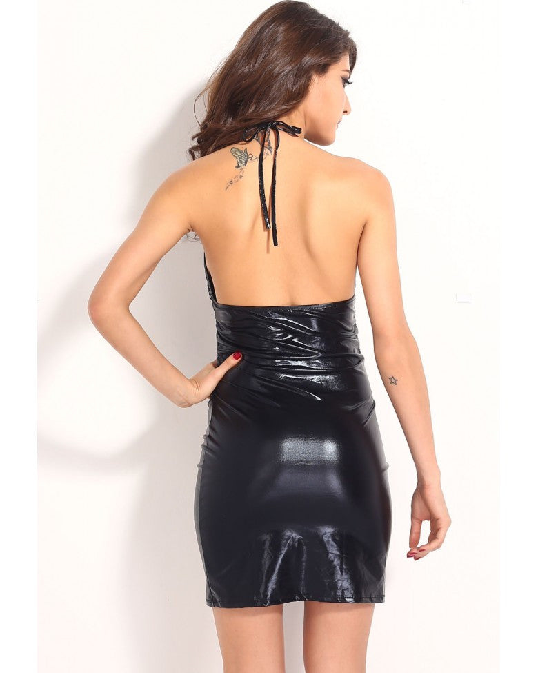 Sexy Summer Fashion Women Deep-V Backless Club Dresses - Sins & Temptations