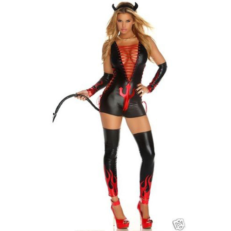 Hot Women Dark Fantasy Sexy Devil Costume - Sins & Temptations
