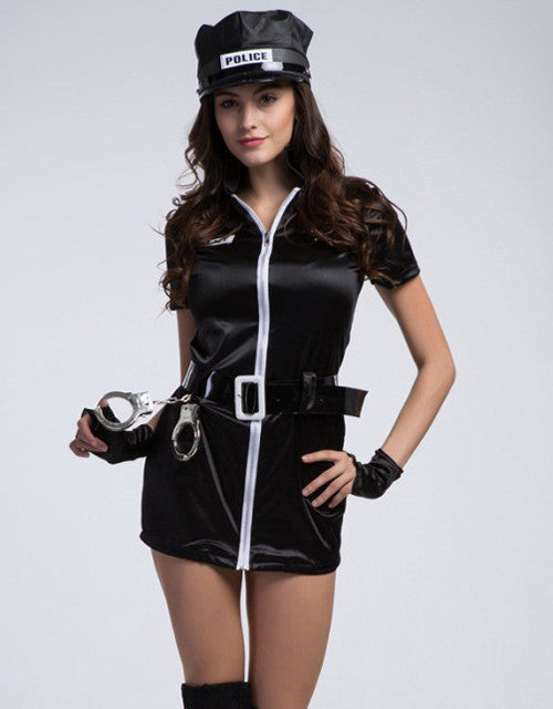 Women Police Costume Dress - Sins & Temptations