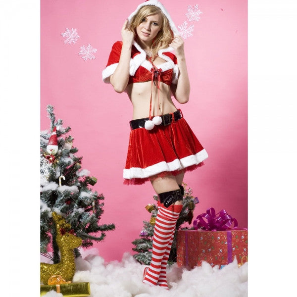 Women Christmas Sexy Costume - Sins & Temptations