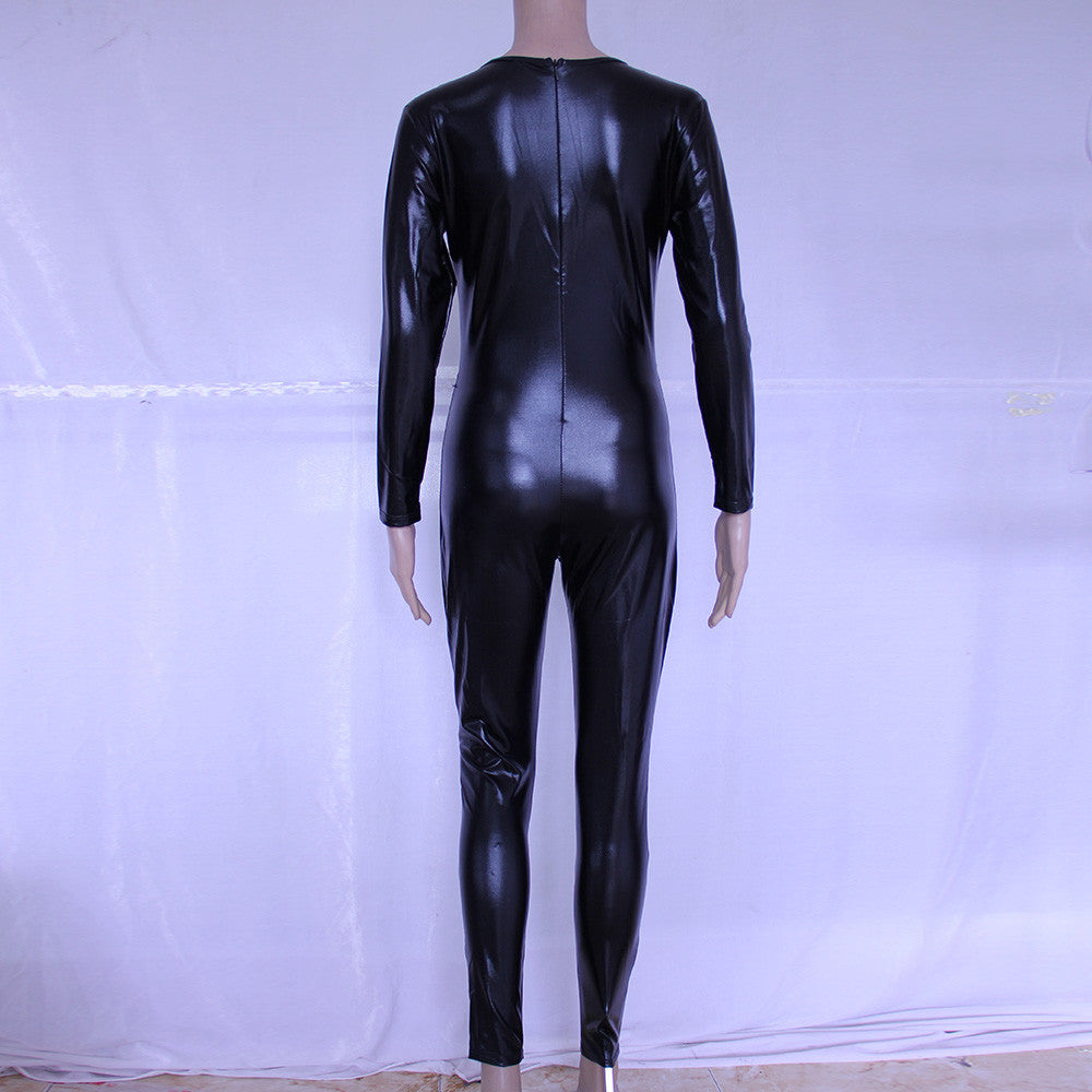 Black Catwomen Latex Zentai Catsuit Costumes - Sins & Temptations