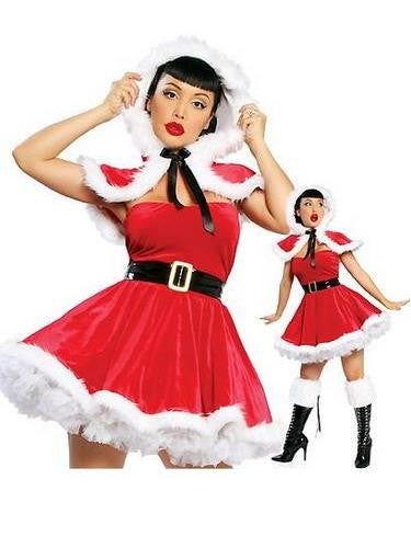 Women Cute Santa Costume - Sins & Temptations