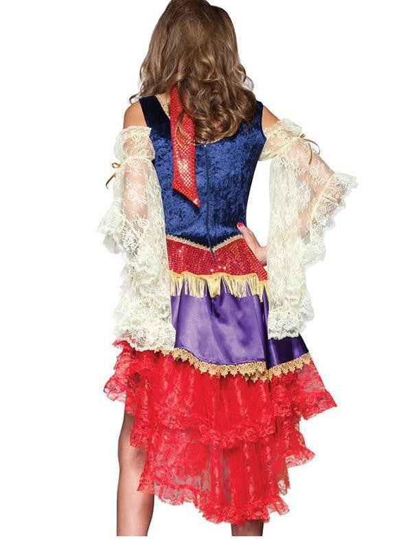 Elite Women's Sexy Good Fortune Female Esmeralda Adult Costume - Sins & Temptations