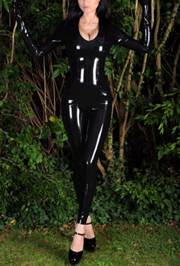 Sexy Pure  Latex rubber bodysuit - Sins & Temptations