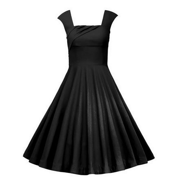 Plus Size Summer Dress Rockabilly Wedding Party Casual Dress Vestidos - Sins & Temptations
