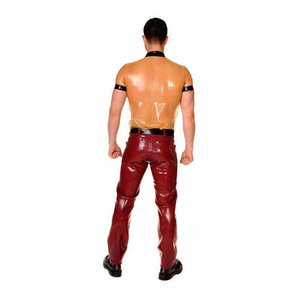 Free shipping Pure Latex rubber transparent clothes,latex top wear for men - Sins & Temptations