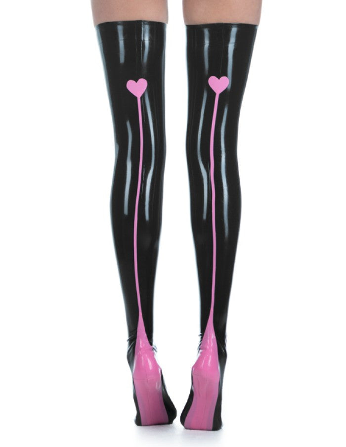 High Quality Pure Latex Rubber Stockings Sexy Tight Leggings - Sins & Temptations