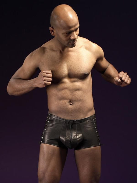 Mens Exotic Boxers Shorts Transparent Lingerie - Sins & Temptations