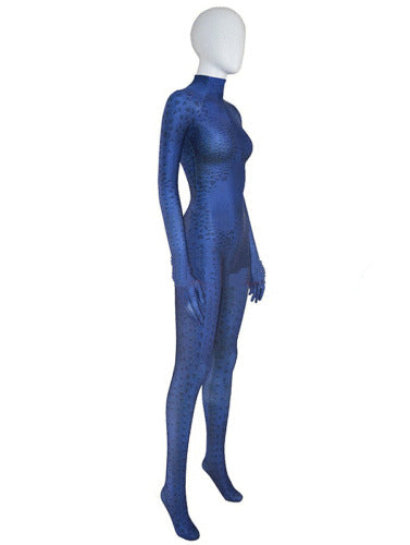 Mystique Cosplay Costume spandex halloween X-men Mystique catsuit 3D Print Superwomen - Sins & Temptations
