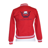 Gallery equine Grand National red bomber jacket