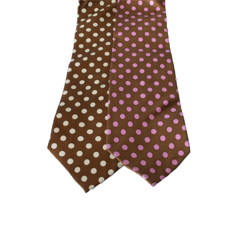 Gallery equine and show stoppers brown polkadot ties