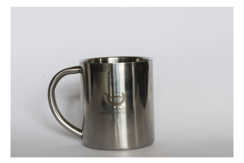 GN silver coffee mug