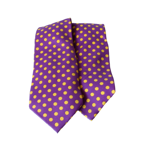 Gallery equine and show stoppers purple polkadot tie