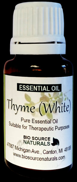 White Thyme Essential Oil - 0.5 fl oz (15 ml)