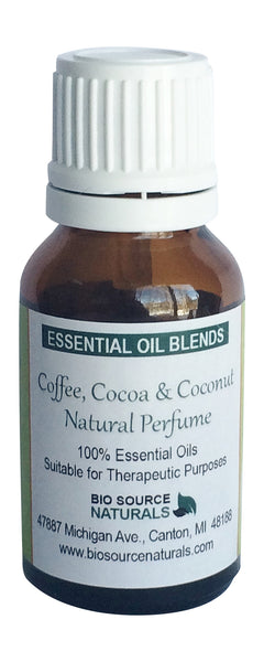 Coffee, Cocoa & Coconut Essential Oil Blend 1 fl oz (30 ml)