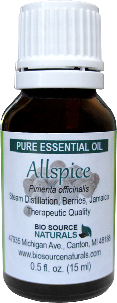 Allspice Essential Oil - 0.5 fl oz (15 ml)