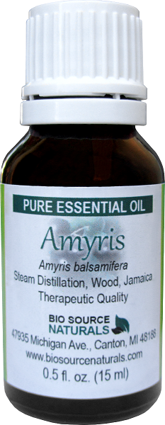 Amyris Essential Oil - 0.5 fl oz (15 ml)