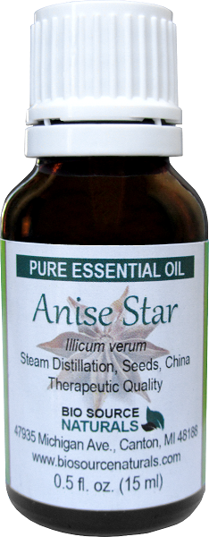Anise Star Essential Oil - 1 fl oz (30 ml)