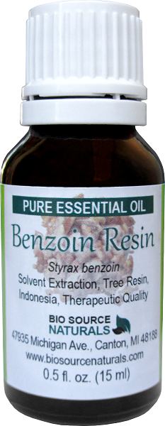 Benzoin Essential Oil -  0.5 fl oz (15 ml)