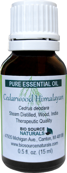 Cedarwood Himalayan Oil - 0.5 fl oz (15 ml)