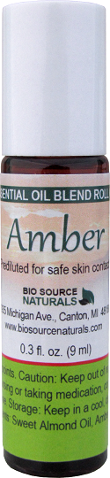 Amber Essential Oil - 0.3 fl oz (9 ml) Roll On