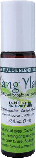 Ylang Ylang I Essential Oil - 0.3 fl oz (9 ml) Roll On
