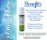 Emo-Fibro Essential Oil Blend - 0.3 fl oz (9 ml) Roll On