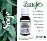 Sage Pure Essential Oil - 1 fl oz (30 ml)