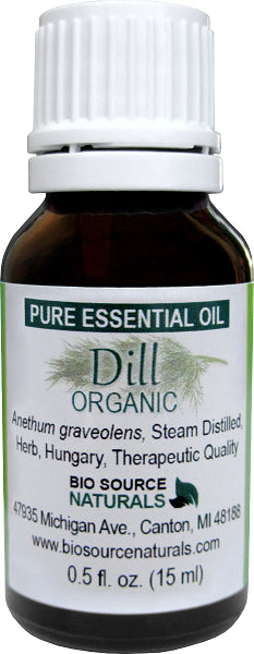 Dill Essential Oil Organic- 1 fl oz (30 ml)