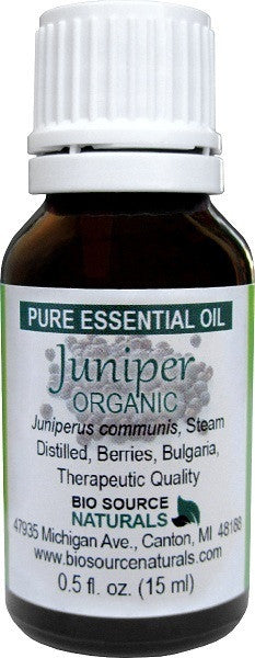 Juniper Berry Pure Essential Oil - 0.5 fl oz (15 ml) Organic