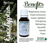 Eucalyptus Radiata Pure Essential Oil - 1 fl oz (30 ml)