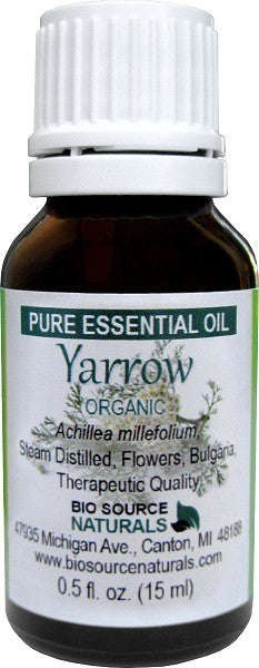 Yarrow Pure Essential Oil - 1 fl oz (30 ml) Organic - Bulgarian
